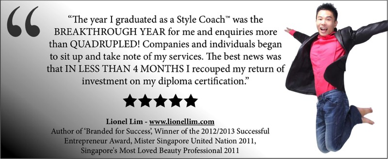 How to become a life coach amp image consultant combined in singapore